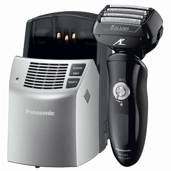 Panasonic es-lv81k 5-blade self-cleaning shaver
